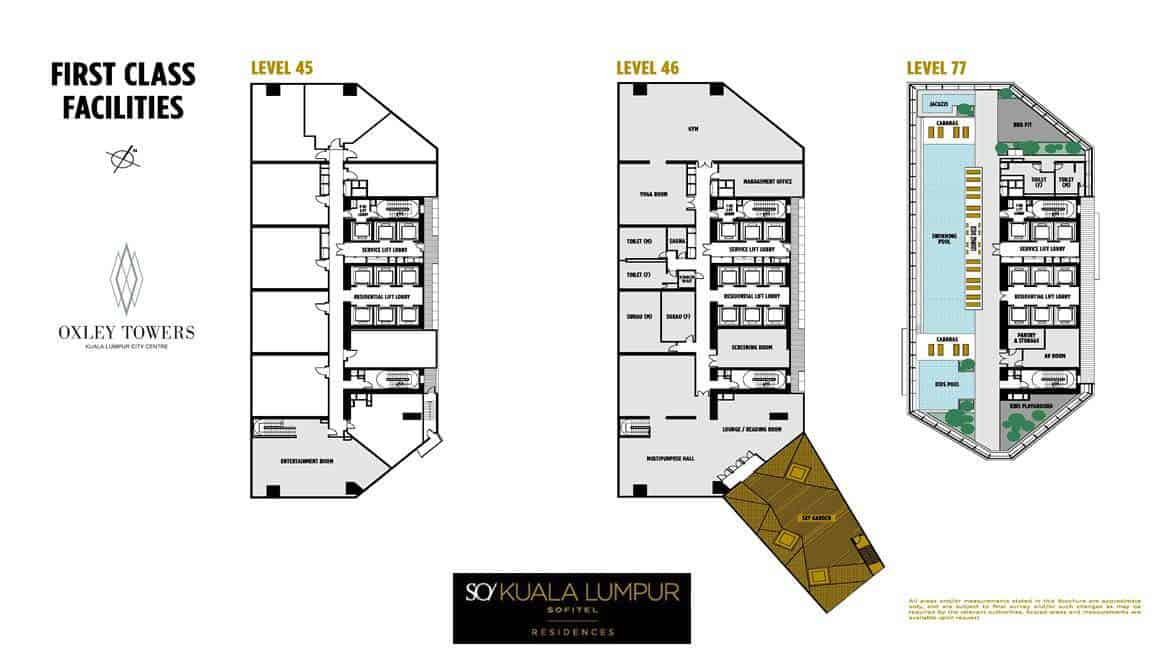 SO Sofitel Residences - Facilities Deck