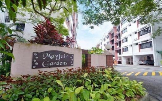 Mayfair Gardens existing site