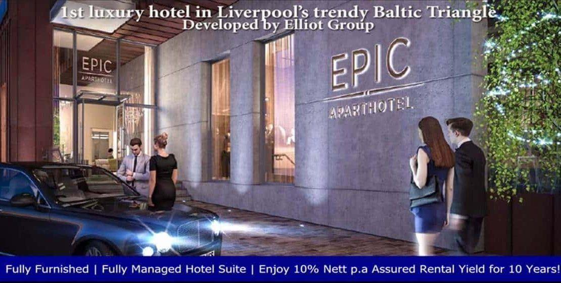 EPIC Hotel & Residence - Entrance