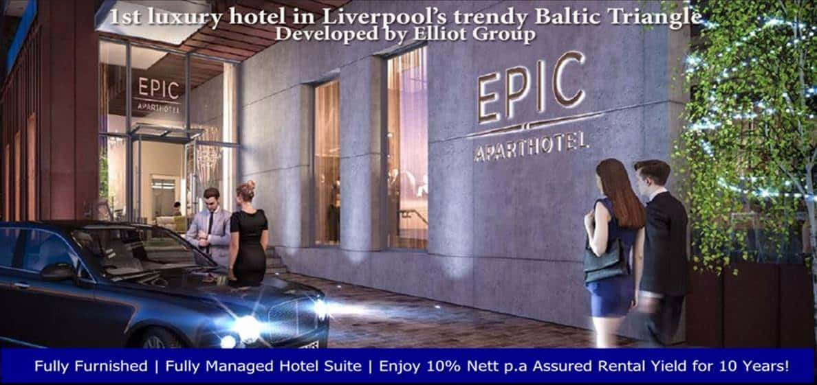 EPIC Hotel and Residence - Entrance