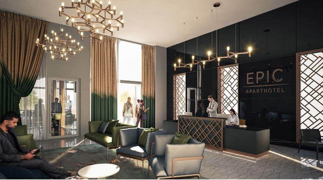 EPIC Hotel & Residence - Waiting Lounge