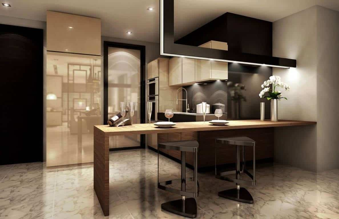 The Astaka - 3 Bedroom Dry Kitchen