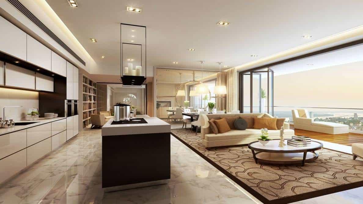 The Astaka - 4 bedroom Living Room