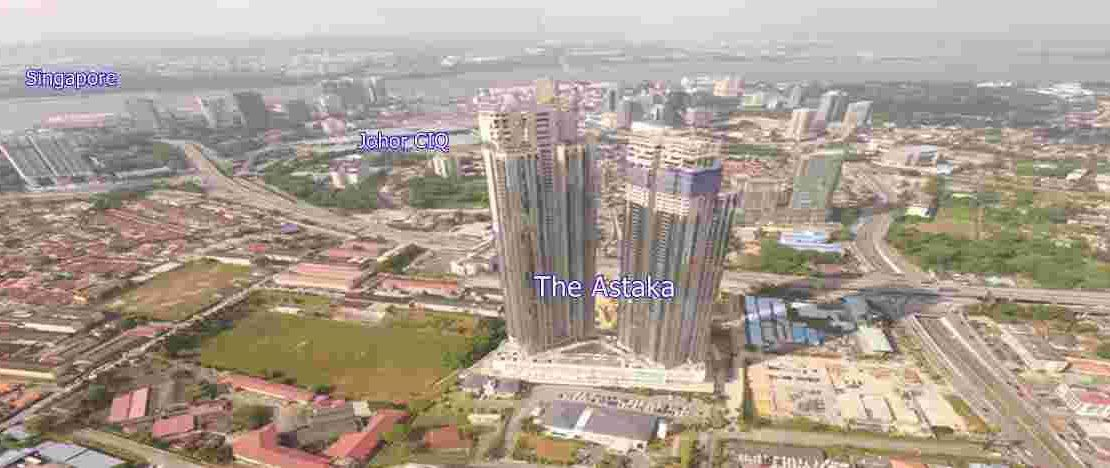 The Astaka - Completed View