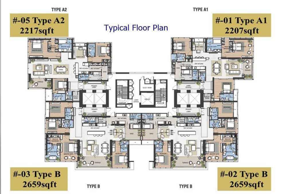 The Astaka Floor Plan