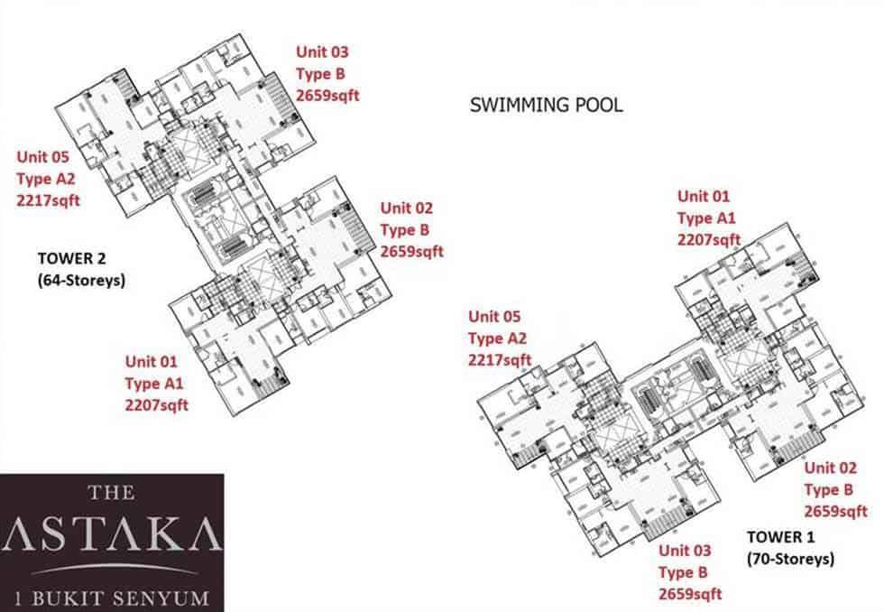 The Astaka Site Plan