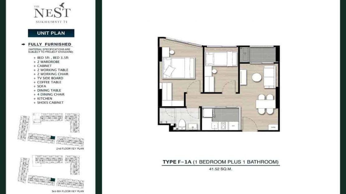The Nest S71 - 1 Bedroom Plus