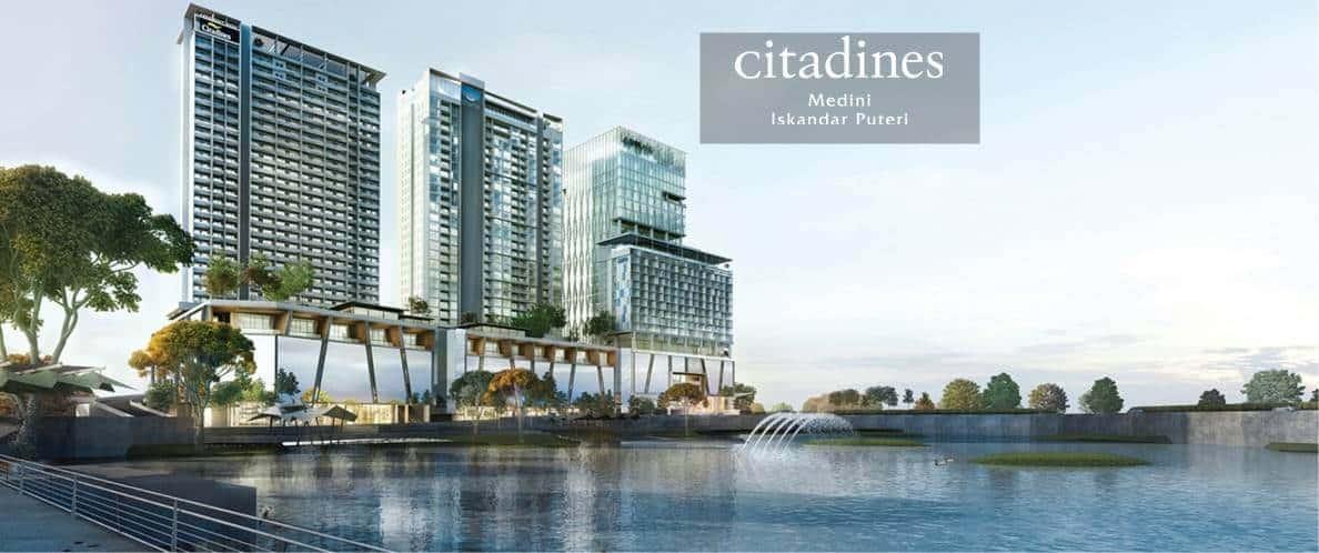 Citadines Medini - Facade 9