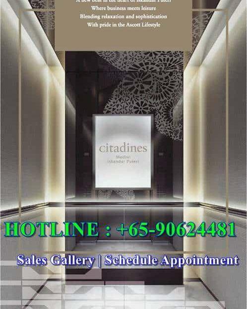 Citadines Medini - Welcome Lift
