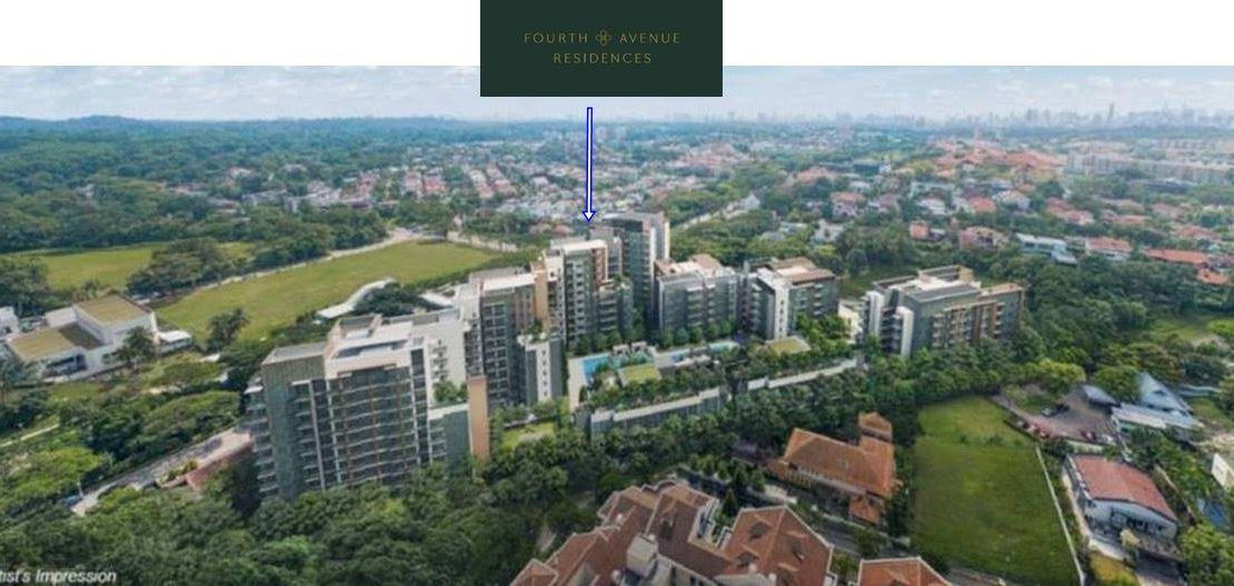 Fourth Avenue Residences Aerial View