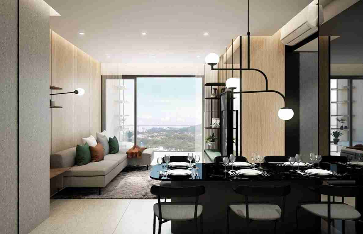 Fourth Avenue Residences - Living Room