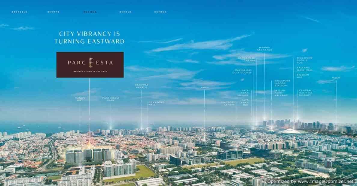 Parc Esta - Aerial View