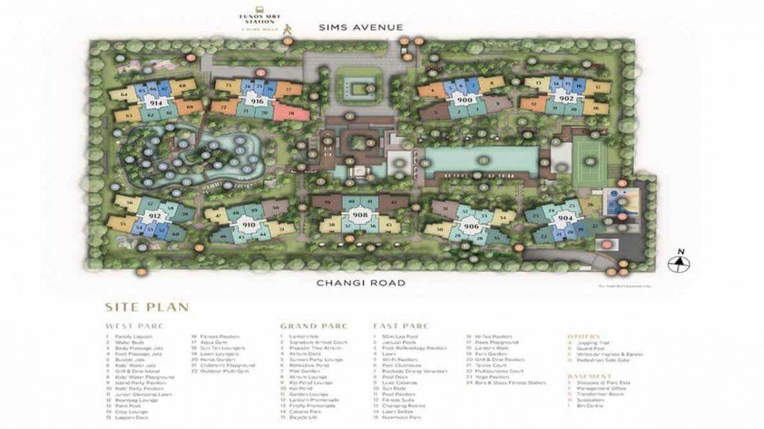 Parc Esta - Site Plan