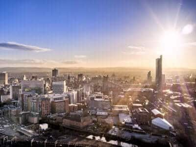 Manchester City Skyline