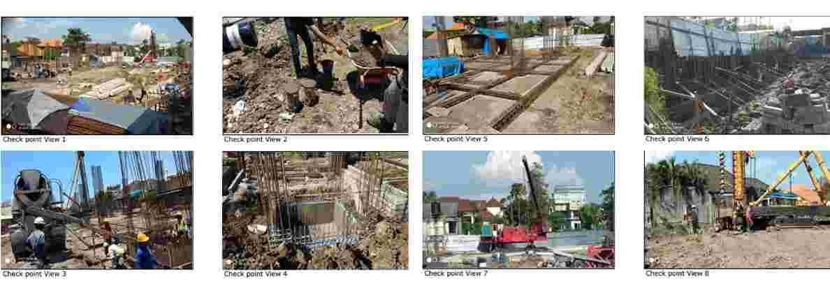 Citadines Berawa Beach Bali Hotel Construction Site