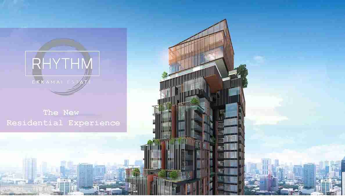 Rhythm Ekkamai Estate - Facade 1