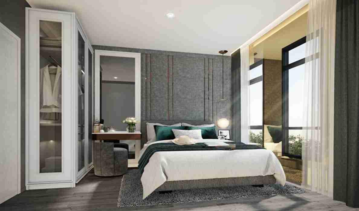 Aspire Asoke Ratchada - 50sqm Bedroom
