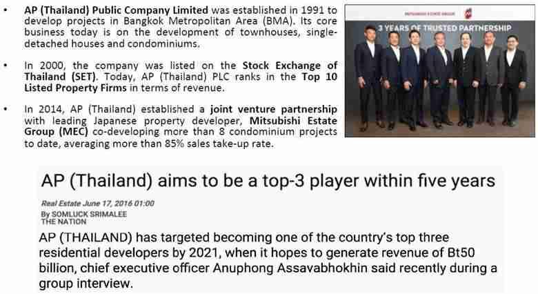 Aspire Asoke Ratchada - Developer's Profile