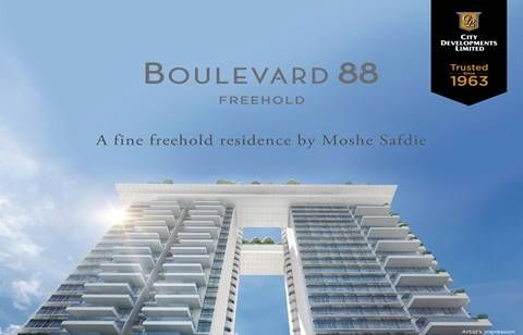 Boulevard 88 - D10 Freehold Condo