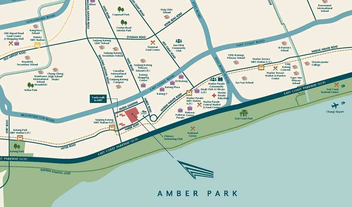 Amber Park Location Map 2