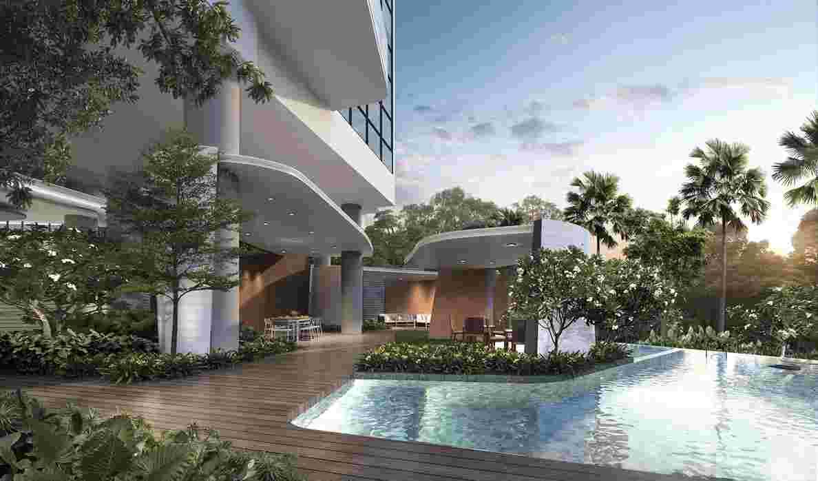 Coastline Residences - Dining Pavilion