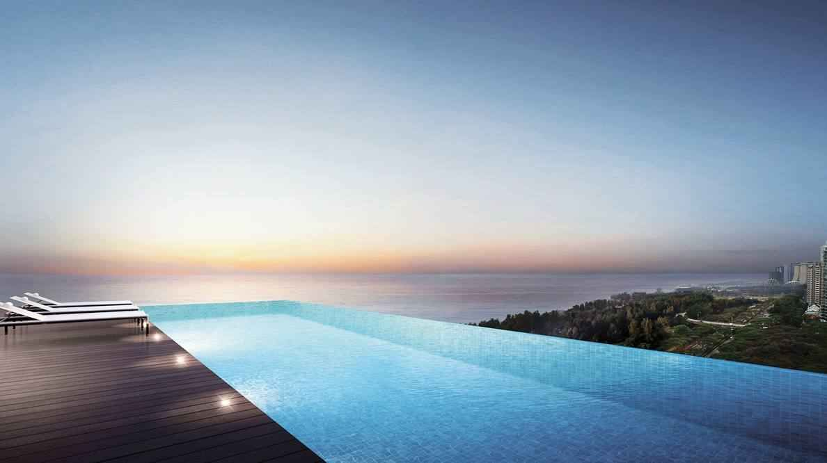 Coastline Residences - Infinity Sky Pool