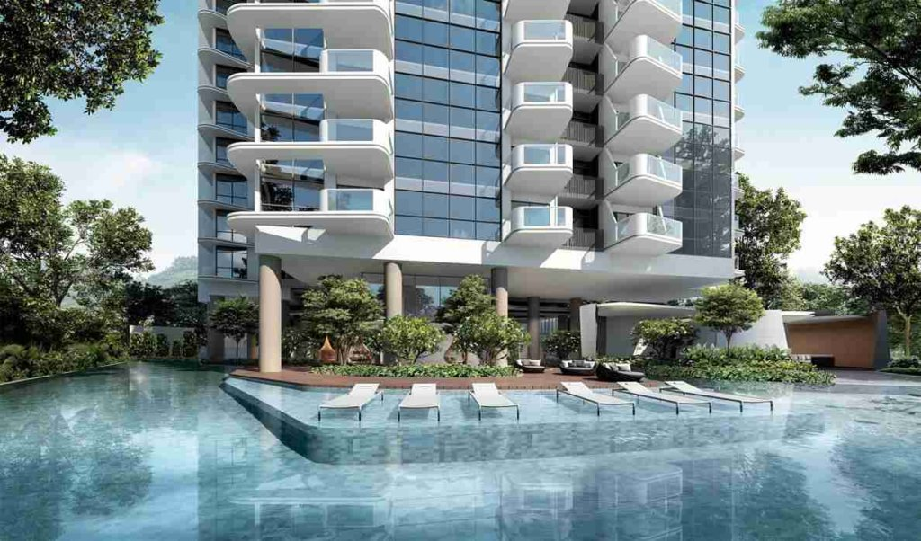 Coastline Residences - Pool Lounge