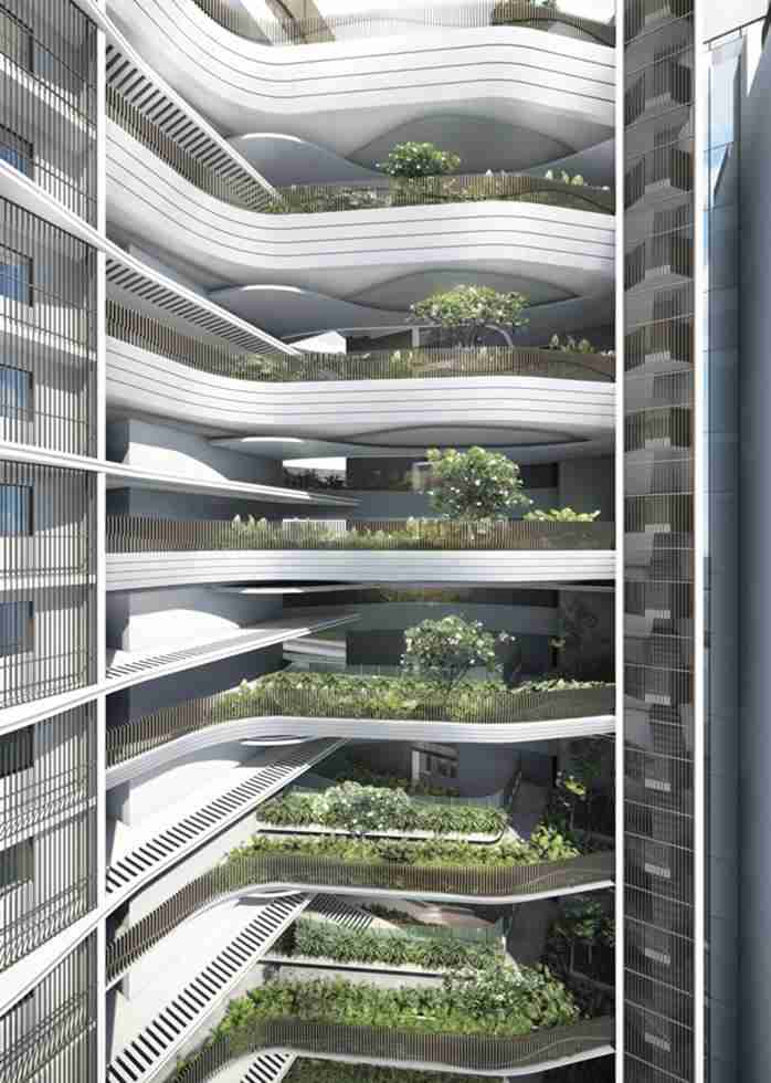 Coastline Residences - Sky Terrace