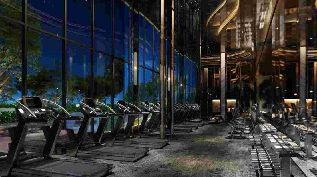 Ideo Q Phahol Saphan Kwai - Fitness Room