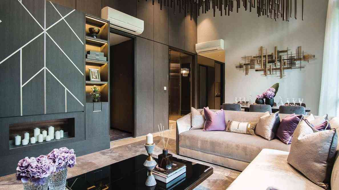 Parc Clematis - Signature Tower Living & Dining Room