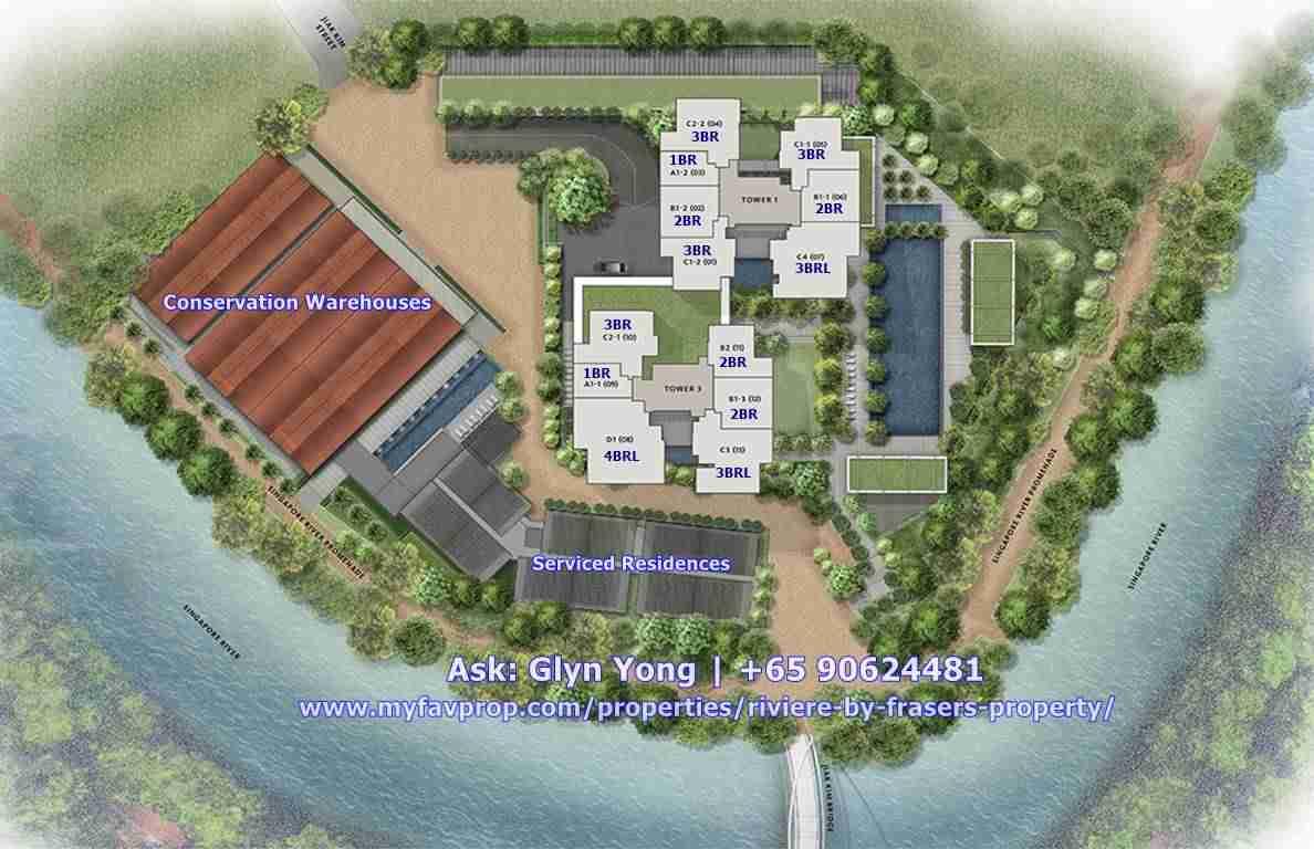 Riviere - Site Plan