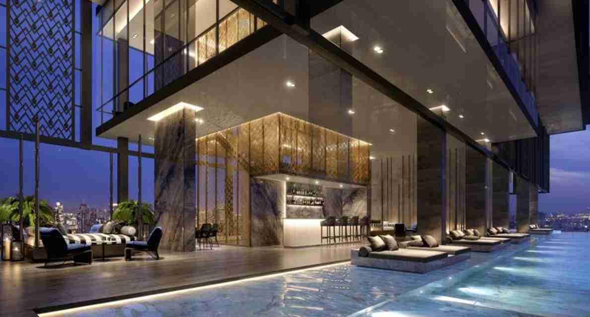 The Address Siam Ratchathewi - Sky pool