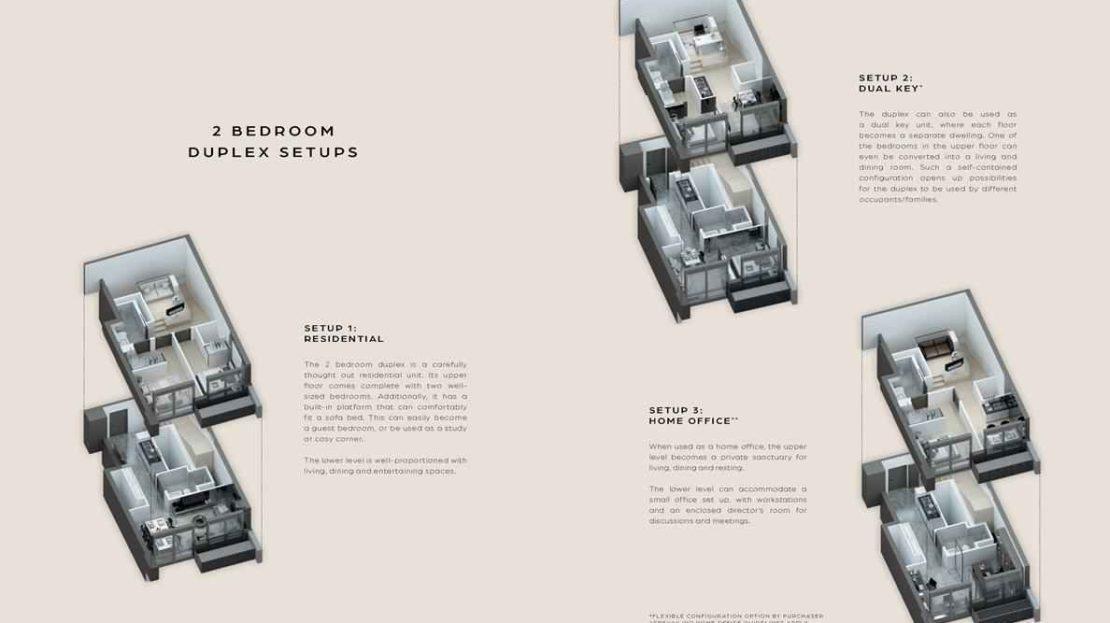 Midtown Bay - 2 Bedroom Duplex
