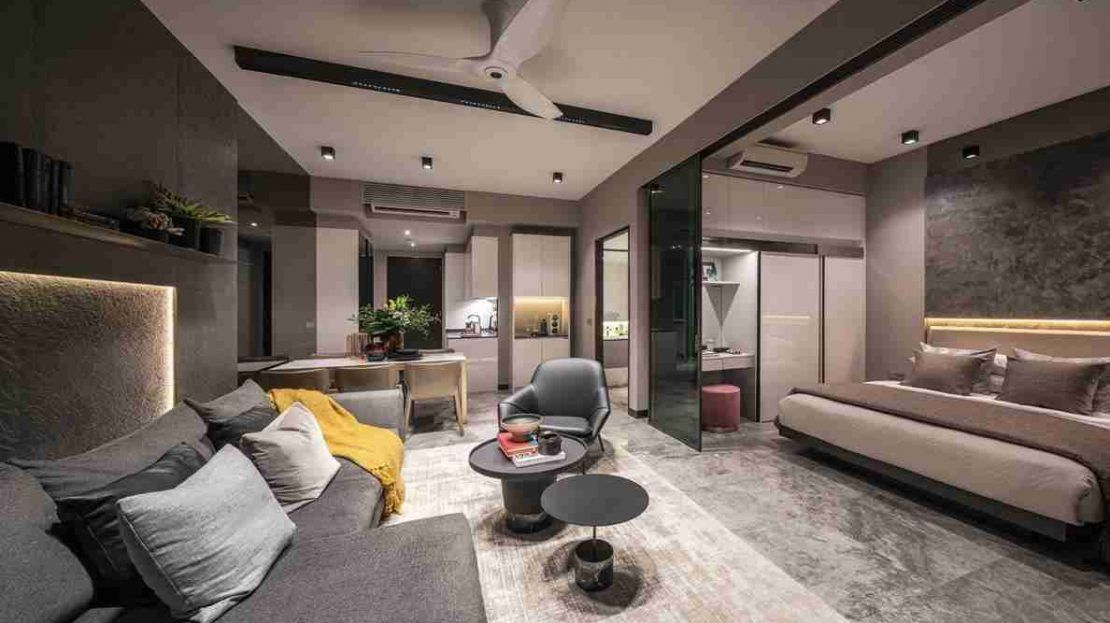 Midtown Bay - Living Room