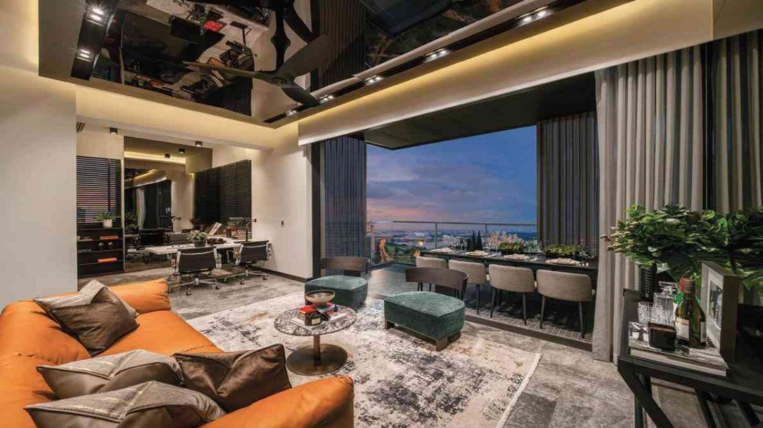 Midtown Bay - Living Room 2