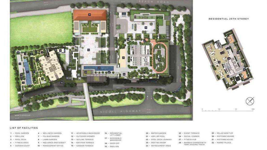 Midtown Bay - Site Plan