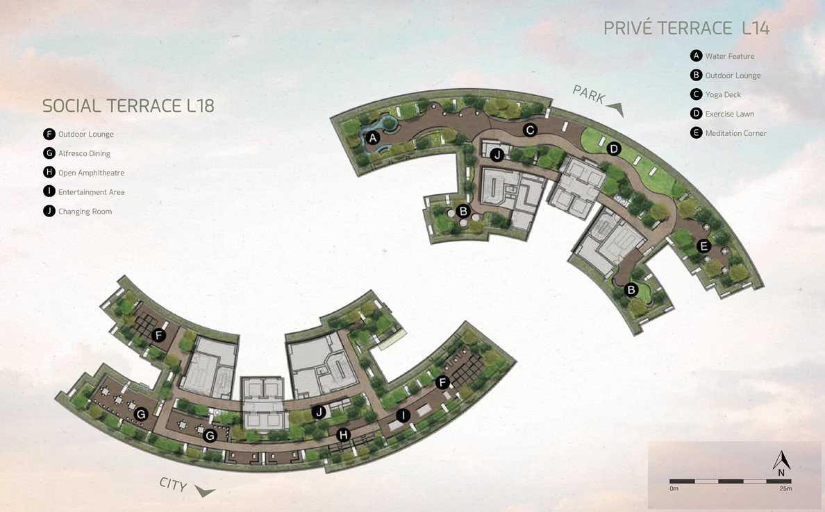 One Pearl Bank - Sky Terraces L14 & L18