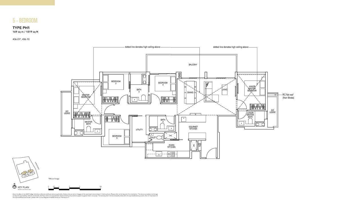 Sky Everton - 5 BR Floor Plan