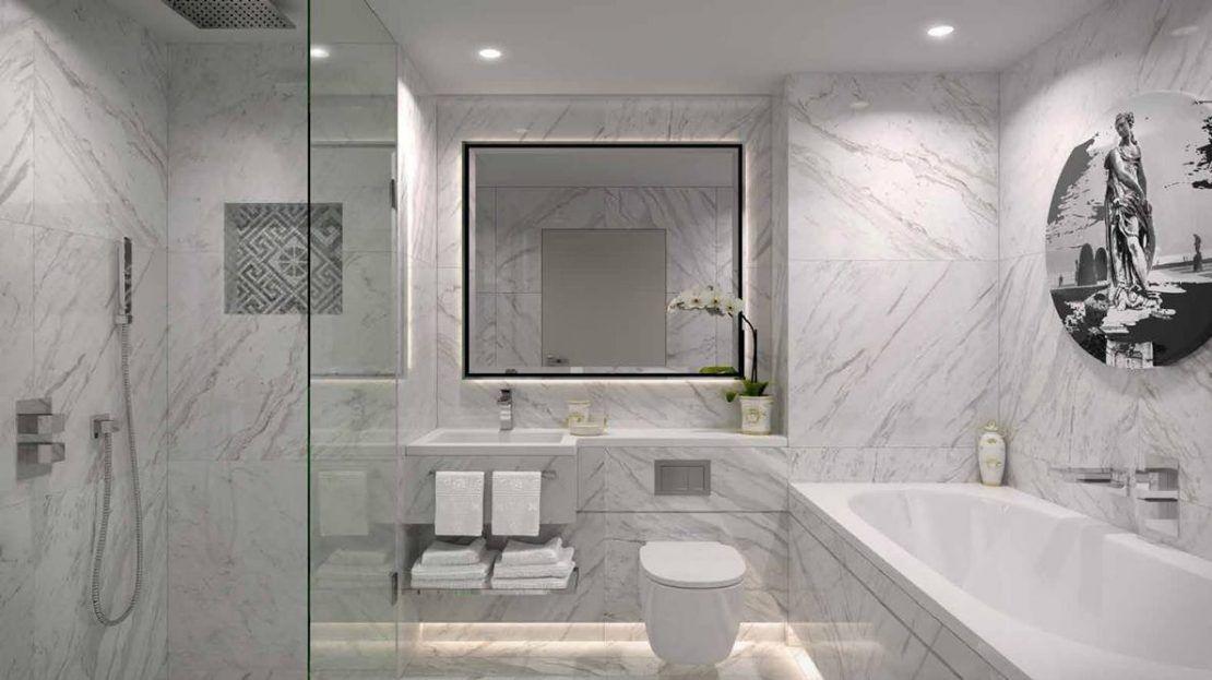 Damac Tower - Bathroom