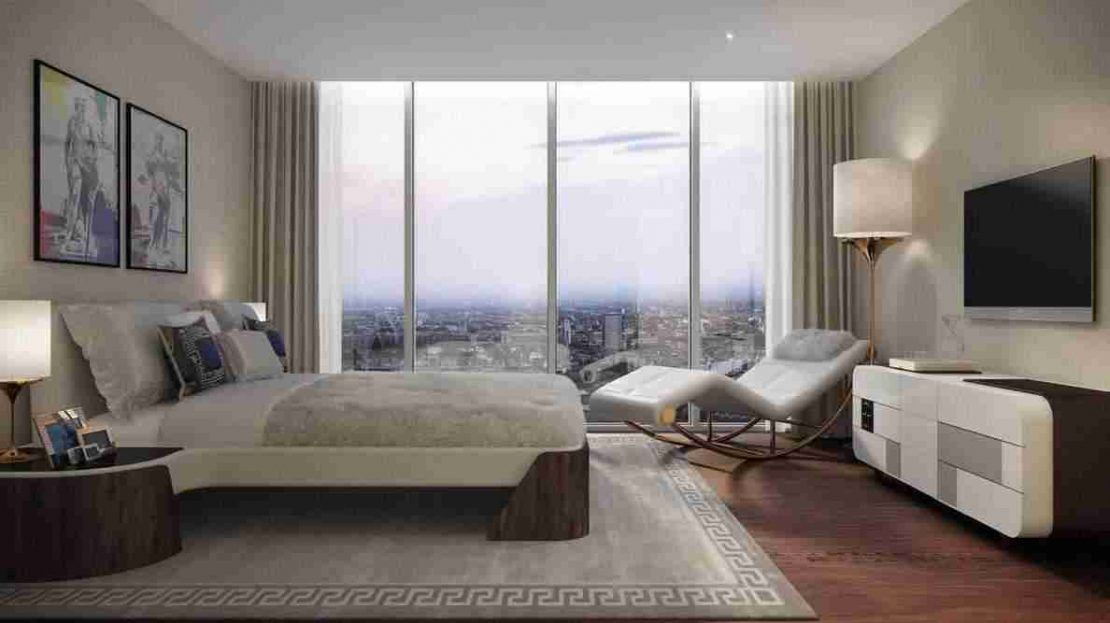 Damac Tower - Bedroom