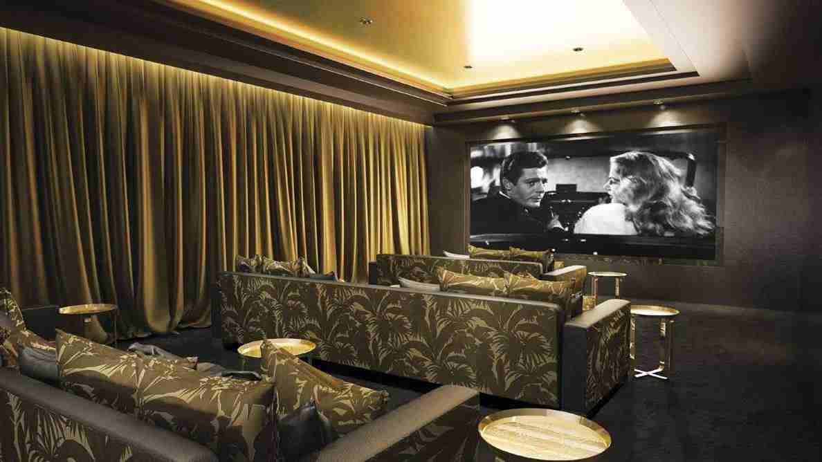 Damac Tower - Cinema Room
