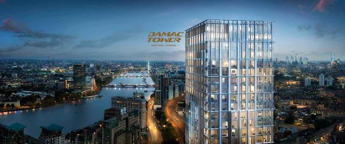 Damac Tower Facade 1