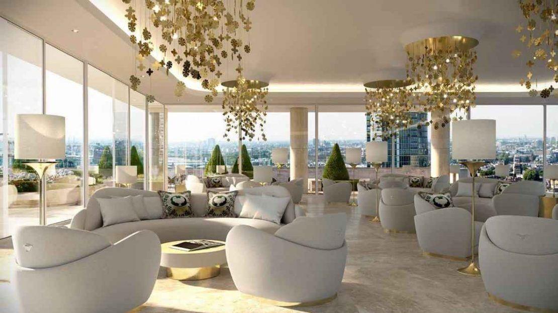 Damac Tower - Residents Lounge