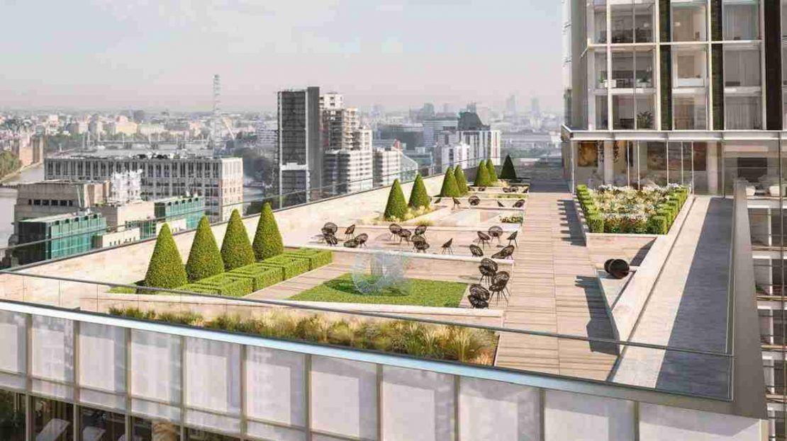 Damac Tower - Roof Gardens