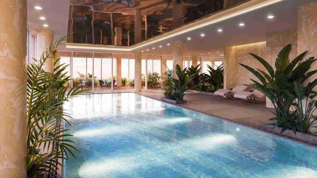 Damac Tower - Swimming Pool