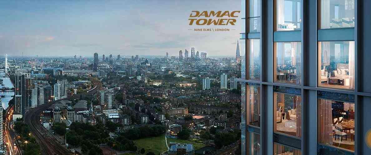Damac Tower - Window View