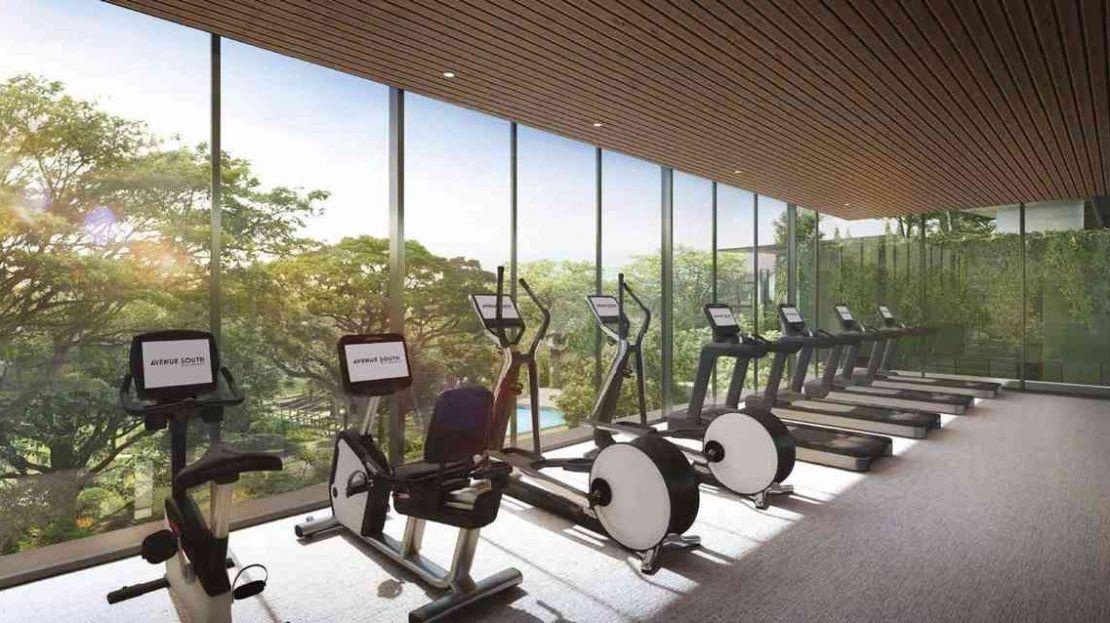 Avenue South Residence - Gym Room