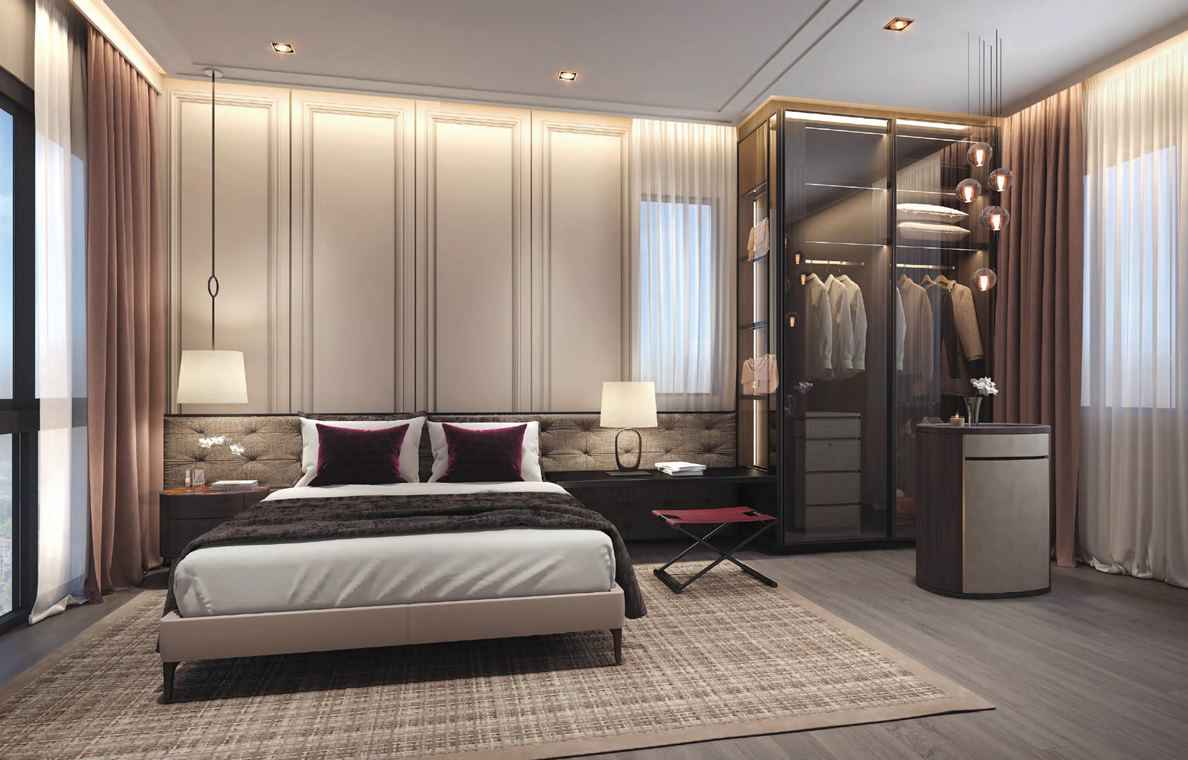 Avenue South Residence - Peak Collection Bedroom