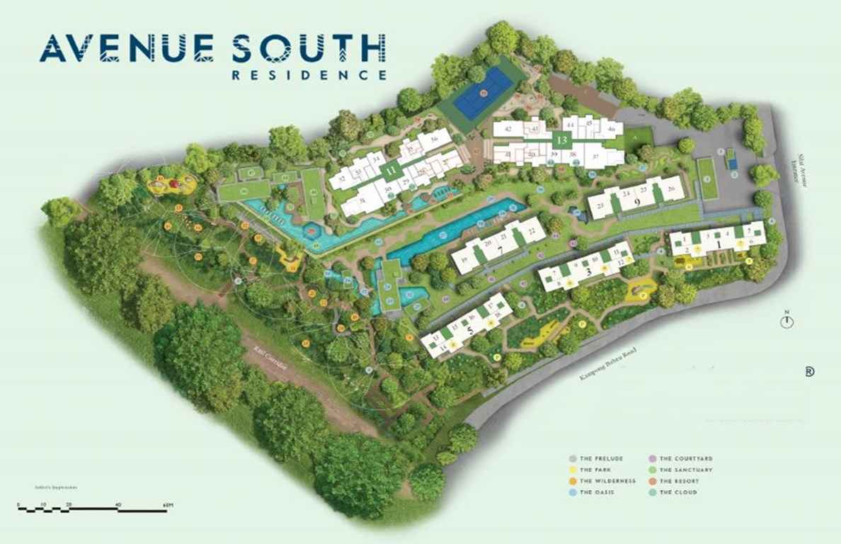 Avenue South Residence - Site Plan
