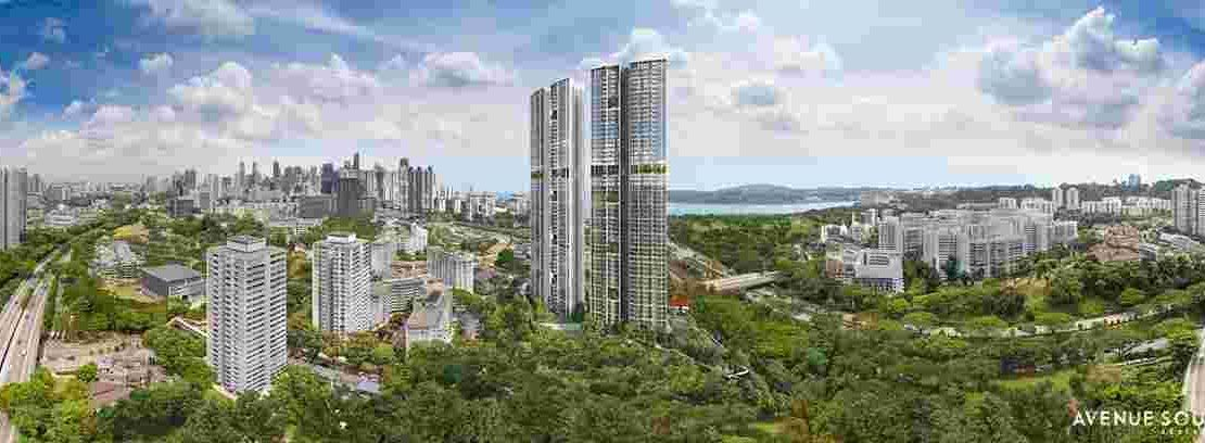 Avenue South Residence - pano view
